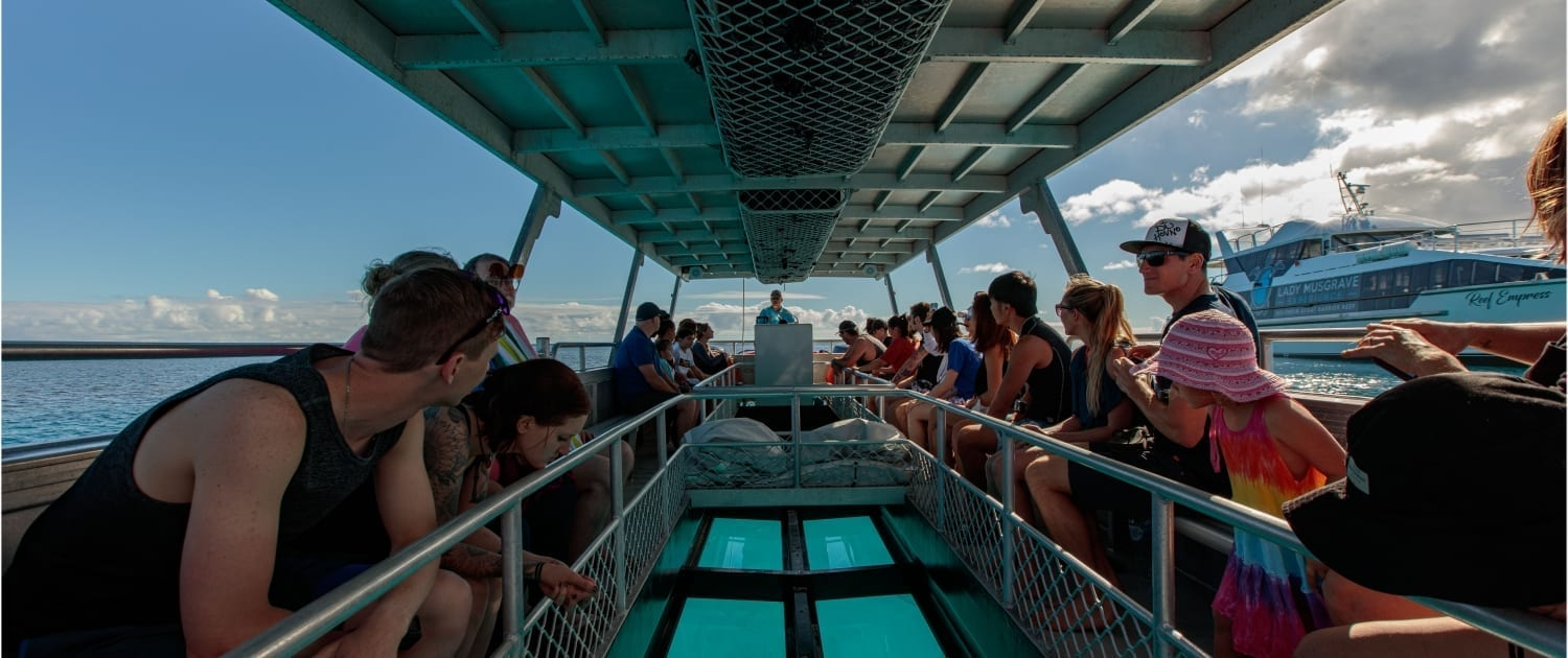 Glass Bottom Boat 1 Lady Musgrave Experience Great Barrier Reef