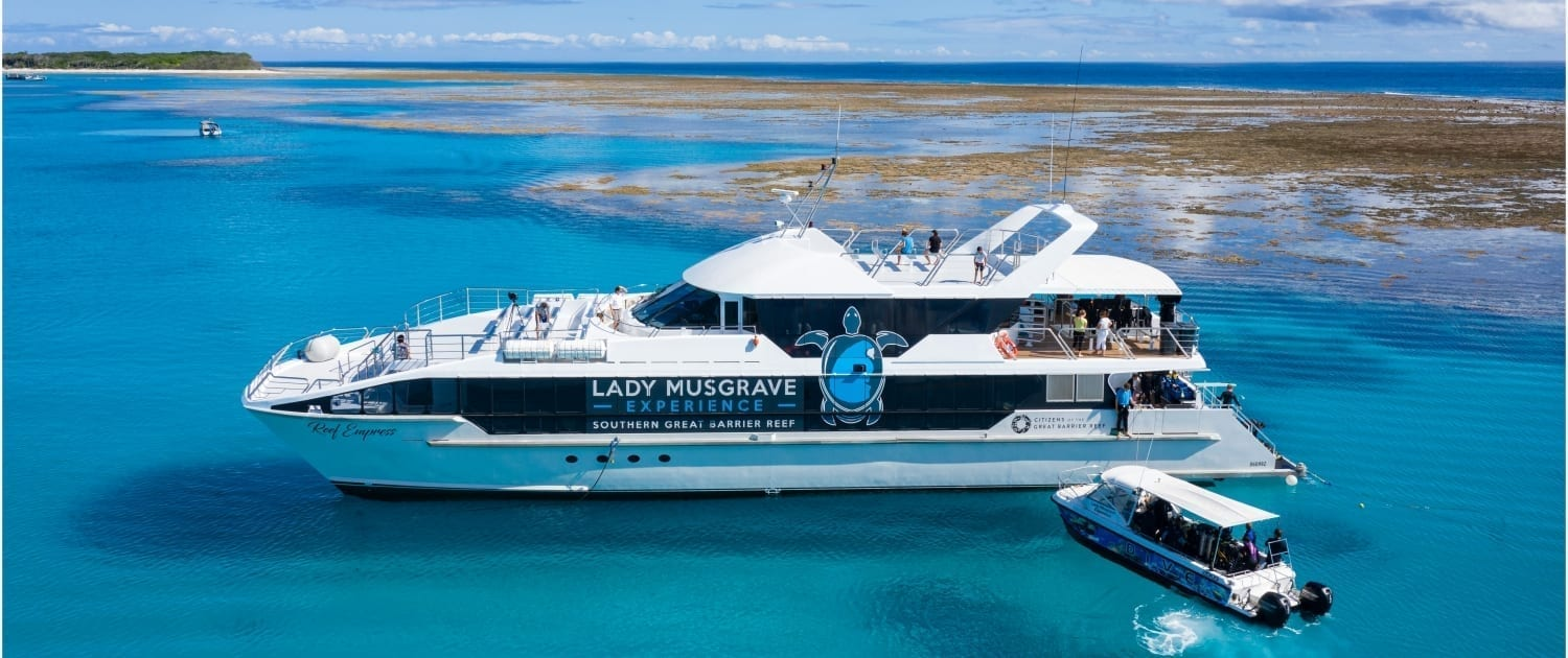 Reef Empress 2 Lady Musgrave Experience Great Barrier Reef